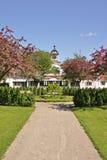κήπος εξοχικών σπιτιών αγροτικός Στοκ εικόνα με δικαίωμα ελεύθερης χρήσης