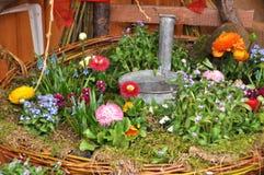 Κήπος εξοχικών σπιτιών Στοκ Εικόνες