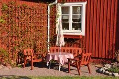 κήπος επίπλων Στοκ Φωτογραφίες