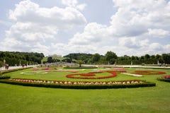 κήπος ηλιόλουστος Στοκ εικόνες με δικαίωμα ελεύθερης χρήσης