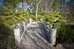 κήπος ιαπωνικά γεφυρών Στοκ εικόνες με δικαίωμα ελεύθερης χρήσης