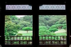 κήπος ιαπωνικά Η πτώση είναι πολύ ζωηρόχρωμη εποχή της Ιαπωνίας Η εποχή πτώσης του Κιότο είναι πολύ καλός συγχρονισμός για να δει στοκ φωτογραφία