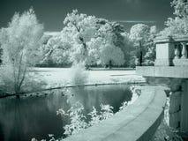 κήπος κάστρων Στοκ Εικόνα