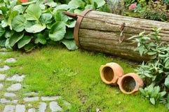 Κήπος και αντίκες Στοκ εικόνα με δικαίωμα ελεύθερης χρήσης