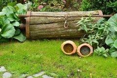 Κήπος και αντίκες Στοκ Εικόνα