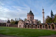Κήπος και μουσουλμανικό τέμενος παλατιών Schwetzingen στοκ φωτογραφία με δικαίωμα ελεύθερης χρήσης