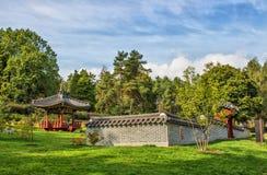 κήπος Κορεάτης στοκ εικόνες