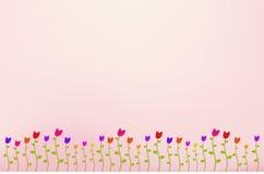 κήπος λουλουδιών ανασ&kap Στοκ εικόνα με δικαίωμα ελεύθερης χρήσης