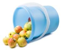 Κήπος μήλων που απομονώνεται Στοκ φωτογραφία με δικαίωμα ελεύθερης χρήσης