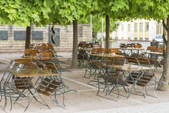 Κήπος μπύρας Στοκ φωτογραφίες με δικαίωμα ελεύθερης χρήσης