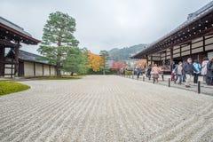 Κήπος ναών Tenryuji Στοκ Φωτογραφίες
