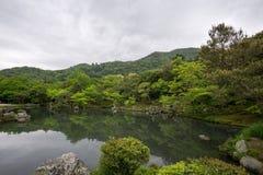 Κήπος ναών Tenryuji Στοκ εικόνες με δικαίωμα ελεύθερης χρήσης