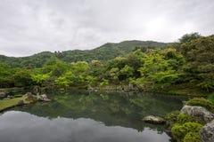 Κήπος ναών Tenryuji Στοκ φωτογραφίες με δικαίωμα ελεύθερης χρήσης