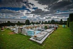 κήπος νεκροταφείων topiary Στοκ Εικόνα