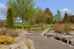 κήπος πάγκων Στοκ εικόνα με δικαίωμα ελεύθερης χρήσης
