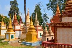 Κήπος παγοδών Prom Rath Preah Στοκ Εικόνες