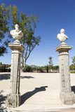 Κήπος παλατιών Oeiras Στοκ Εικόνες