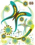 κήπος πεταλούδων Στοκ φωτογραφίες με δικαίωμα ελεύθερης χρήσης