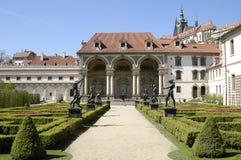 κήπος Πράγα valdstein στοκ φωτογραφίες