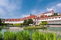 κήπος Πράγα wallenstein Στοκ Φωτογραφία