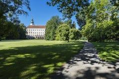Κήπος πύργων (ΟΥΝΕΣΚΟ) σε Kromeriz Στοκ Εικόνες
