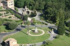 κήπος Ρώμη Στοκ Φωτογραφία