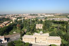 κήπος Ρώμη Στοκ Εικόνα