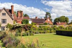 Κήπος σπιτιών Packwood, Warwickshire, Αγγλία στοκ εικόνα