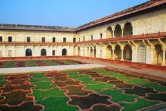 Κήπος σταφυλιών Bagh Anguri στο οχυρό Agra, Ουτάρ Πραντές, Ινδία Στοκ φωτογραφία με δικαίωμα ελεύθερης χρήσης