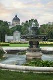 Κήπος στη Βιέννη Στοκ Εικόνες