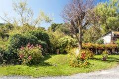 Κήπος στη Γαλλία Στοκ Εικόνες