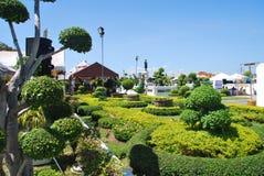 Κήπος στη Μπανγκόκ, Ταϊλάνδη Στοκ Φωτογραφίες