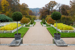 Κήπος στο κάστρο Gunnebo Στοκ Φωτογραφίες