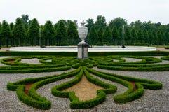 Κήπος στο κάστρο Schwetzingen, Γερμανία Στοκ εικόνα με δικαίωμα ελεύθερης χρήσης