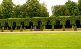 Κήπος στο κάστρο Schwetzingen, Γερμανία Στοκ Φωτογραφίες