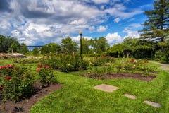 Κήπος στο πάρκο Jean Drapeau Μόντρεαλ Στοκ φωτογραφία με δικαίωμα ελεύθερης χρήσης