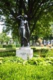 Κήπος στο Alte το παλαιό μουσείο του National Gallery στο νησί μουσείων στο Βερολίνο Γερμανία Στοκ Φωτογραφίες