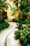Κήπος στο National Gallery της τέχνης, Ουάσιγκτον, συνεχές ρεύμα Στοκ εικόνες με δικαίωμα ελεύθερης χρήσης