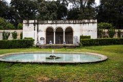 Κήπος της βίλας Borghese Ρώμη Ιταλία Στοκ εικόνα με δικαίωμα ελεύθερης χρήσης