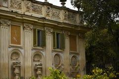 Κήπος της βίλας Borghese Ρώμη Ιταλία Στοκ Φωτογραφία