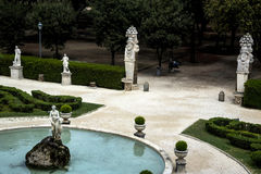 Κήπος της βίλας Borghese Ρώμη Ιταλία Στοκ Φωτογραφίες
