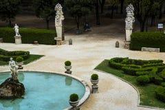 Κήπος της βίλας Borghese Ρώμη Ιταλία Στοκ φωτογραφία με δικαίωμα ελεύθερης χρήσης