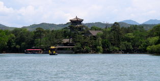 κήπος της Κίνας βασιλικός Στοκ Εικόνες