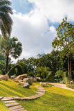 Κήπος της Mae Fah Luang, που βρίσκεται σε Doi Tung, Ταϊλάνδη Στοκ εικόνα με δικαίωμα ελεύθερης χρήσης