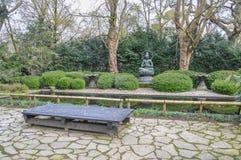 Κήπος της Zen στο Artis Άμστερνταμ οι Κάτω Χώρες Στοκ Φωτογραφίες