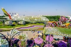 Κήπος του Ντουμπάι Miiracle Στοκ Εικόνες