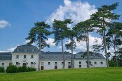 Κήπος του παλατιού Festetics στην πόλη Keszthely, Ουγγαρία στοκ εικόνες