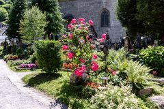 Κήπος του Σάλτζμπουργκ στοκ εικόνα