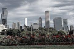 Κήπος του Σικάγου στοκ εικόνες με δικαίωμα ελεύθερης χρήσης