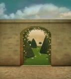 Κήπος φαντασίας Στοκ Εικόνες